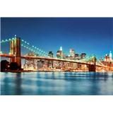 Vliesové fototapety New York East River rozměr 366 cm x 254 cm - POSLEDNÍ KUSY