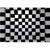 Vliesové fototapety 3D šachovnice rozměr 366 cm x 254 cm - POSLEDNÍ KUSY