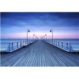 Vliesové fototapety molo Pier At The Seaside rozměr 366 cm x 254 cm - POSLEDNÍ KUSY