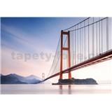Vliesové fototapety Xihou Bridge rozměr 366 cm x 254 cm