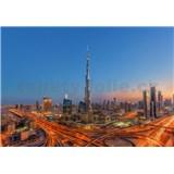 Vliesové fototapety Dubaj rozměr 366 cm x 254 cm