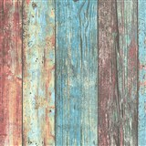 Vliesové tapety IMPOL Wood and Stone 2 barevné dřevěné desky
