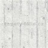 Vliesové tapety IMPOL Wood and Stone 2 betonová zeď šedá