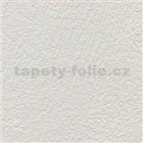 Vliesové tapety na zeď XXL strukturovaná omítkovina krémová MEGA ROLL návin 15m
