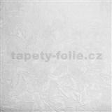 Vliesové tapety na zeď XXL strukturovaná omítkovina bílá MEGA ROLL návin 15m - AKCE