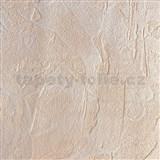 Vliesové tapety na zeď XXL strukturovaná omítkovina oranžová MEGA ROLL návin 15m