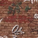Tapety na zeď Young Spirit - Graffiti zelené