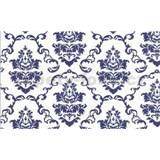 Samolep�c� tapety ornamenty modr� - 67,5 cm x 15 m