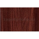 Samolepící tapety mahagonové dřevo - 45 cm x 15 m