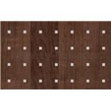 Samolepící tapety olše tmavá s aplikací - renovace dveří - 90 cm x 210 cm