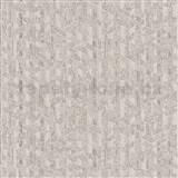 Vliesové tapety na zeď Allure geometrický vzor béžovo-zlatý