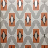 Papírové tapety na zeď Options Quartz oranžové