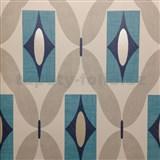 Papírové tapety na zeď Options Quartz modré