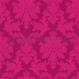 Papírové tapety na zeď Options zámecký ornament růžový