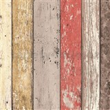Vliesové tapety na zeď Wood n Stone dřevěné desky barevné