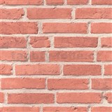 Vliesové tapety na zeď Cocktail červená cihla