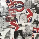 Vliesové tapety na zeď Londýn - POSLEDNÍ KUSY