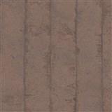 Luxusní vliesové tapety na zeď Avalon omítkovina v pruzích měděná