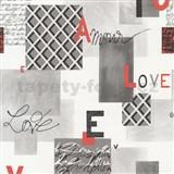 Pap�rov� tapety na ze� Be You - Love �ed� - SLEVA