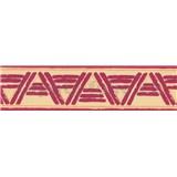 Samolepící bordura lines bordová 10 m x 5,3 cm