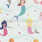 Papírové tapety na zeď Boys & Girls mořské panny
