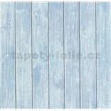 Vliesové tapety na zeď Bread & Butter prkna modro-fialové