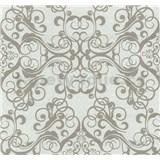 Vliesové tapety na zeď Caprice ornament světle hnědý