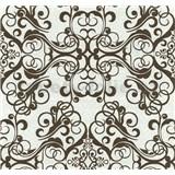 Vliesové tapety na zeď Caprice ornament hnědý