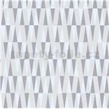 Vliesové tapety IMPOL Carat 2 retro vzor stříbrno-bílý