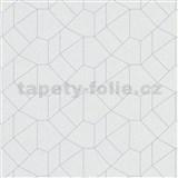 Vliesové tapety IMPOL Carat 2 skandinávský design bílý s šedými konturami