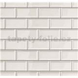 Dekorativní obklad na stěnu Ceramics Metro bílý šířka 67,5 cm x 20 m