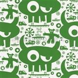 Tapety na ze� Code Red - Monsters - zelen� - SLEVA