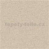 Vliesové tapety na zeď IMPOL Collection textilní struktura hnědá