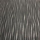 Vliesové tapety na zeď Collection 2 proužky svislé stříbrné, černé a šedé