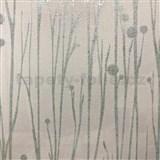 Vliesové tapety na zeď Collection stonky světle zelené s vysokým leskem