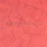Vliesové tapety na zeď stěrkovaná omítka červená