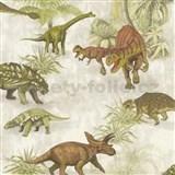 Dětské papírové tapety na zeď IMPOL Collection dinosauři