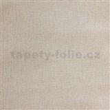 Vliesové tapety IMPOL textilní struktura hnědo-šedá