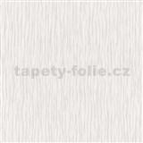 Vliesové tapety na zeď Como - strukturované vlnovky fialovo-bílé