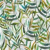 Samolepící folie d-c-fix Lorina listy barevné - 67,5 cm x 2 m (cena za kus)