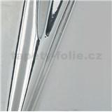 Samolepící fólie stříbrná  - 45 cm x 15 m