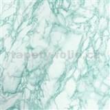 Samolepící tapety - mramor zelený 45 cm x 15 m