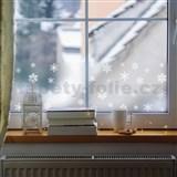 Statická bordura transparentní winter - 20 cm x 1,5 m (cena za kus)