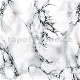 Samolepící tapety  - mramor Marmi bílý 45 cm x 15 m