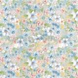 Samolepící tapety d-c-fix - květy 45 cm x 15 m