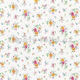 Samolepící tapety d-c-fix - květy na bílém podkladu 45 cm x 15 m