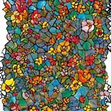 Samolepící folie d-c-fix transparentní Venetian Garden 45 cm x 15 m