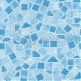 Samolepící tapety d-c-fix mozaika modrá 45 cm x 15 m
