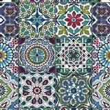 Samolepící folie d-c-fix Maroccan modro-zelený - 45 cm x 1,5 m (cena za kus)