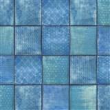 Samolepící folie d-c-fix čtverce modré - 45 cm x 1,5 m (cena za kus)